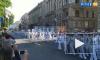 В Петербурге проходит генеральная репетиция парада ВМФ