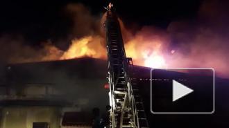 В Волгограде локализовали пожар на заводе по производству дроби
