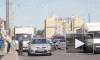 В Петергофе на Гостилицком шоссе перевернулась маршрутка: пострадал только водитель