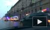 На перекрестке Стачек и Зенитчиков автобус столкнулся с маршруткой