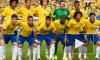На встречу с бразильской сборной на базе пришли всего девять фанатов