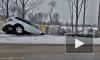 Смертельное ДТП в Шушарах: Lexus влетел в бетонное ограждение