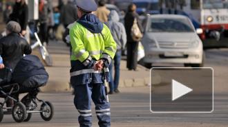 В Красноярске водитель автобуса устроил гонки с выездом на встречную полосу
