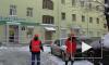 «Ты туда не ходи!» На Лиговском, 95 прошла комплексная уборка двора