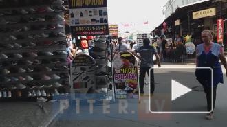 """Видео: торговля в Апраксином дворе вернулась к """"докоронавирусным"""" временам"""