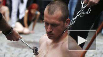 Зоозащитников клеймили раскаленным железом, как скот