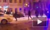 Видео: на Садовой улице таксист пытался скрыться от полиции
