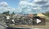 Видео: вблизи поселка Рыжики образовалась незаконная свалка