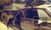 ДТП в Санкт-Петербурге: на Кубинской иномарка врезалась в столб и загорелась, на Лени Голикова легковушку  вытягивали из-под фуры