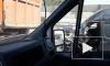 На внешнем кольце КАД у Дороги Жизни микроавтобус въехал в КамАЗ