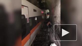 В Тайване пассажирский поезд сошел с рельсов