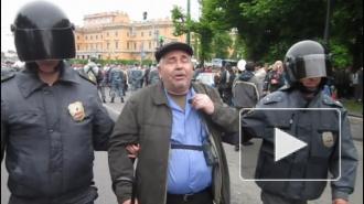 Питерский пенсионер попал под новый закон о митингах