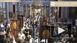 В Иерусалиме началась церемония ожидания схождения Благодатного огня