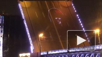 Юрий Гагарин появился на Дворцовом мосту в честь Дня космонавтики
