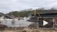 Под Мурманском в воду рухнул железнодорожный мост