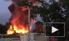 Появилось фото и видео крупного пожара в Пензе на Маяке