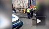 Видео: такси перевернулось после встречи с эвакуатором
