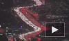 Гигантскую пробку в Лос-Анджелесе показали на видео