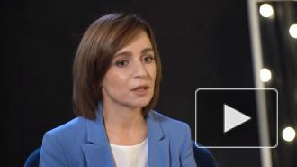 Санду назвала нечестным долг Молдавии за российский газ в Приднестровье