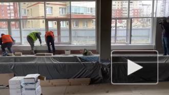 В новом жилом квартале в Невском районе в этом году построят две поликлиники