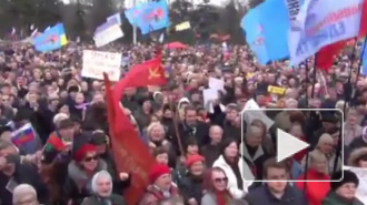 Новости Украины: участники митингов в Одессе метали друг в друга яйца