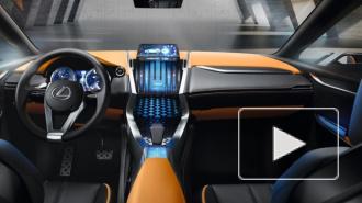 В России появится необычный кроссовер Lexus NX