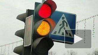 На Васильевском острове светофоры сломались из-за дождей