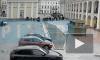 Незаконный крестный ход в центре Петербурга прервала полиция