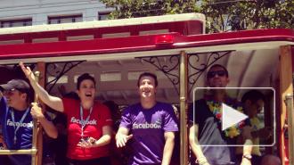 Цукерберг возглавил гей-парад с участием Facebook, Google и Apple