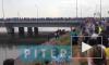 Два ребенка упали с моста Кадырова, ведутся спасательные работы