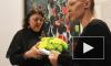 Скандал на выставке Зураба Церетели: акционистка принесла скульптору подарок в своей вагине