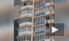 Жуткое видео из Красноярска: Неадекватный мужчина сорвался с 10 этажа