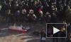 Похороны свиньи у стен Верховной рады попали на видео