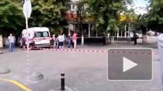 На Украине в Луцке захватили автобус с заложниками