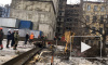 Строительный кран едва не придавил рабочих на Бакунина