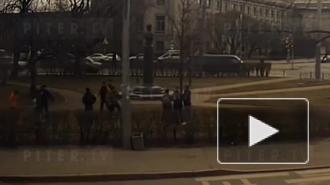 Мигранты устроили поножовщину в парке на Московском проспекте