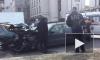 В серьезной аварии на Пироговской набережной пострадали люди