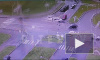 Видео: из-за вылетевшей на перекресток легковушки на Морской набережной произошло ДТП