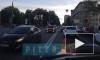 Видео: в Московском районестолкнулись сразу 4 автомобиля