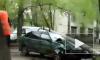 Ужасающее видео из Ульяновска: легковушка снесла столб