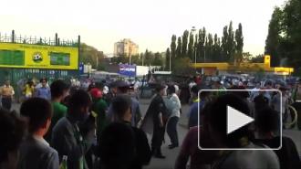 Болельщики «Кубани» и «Анжи» подрались перед матчем