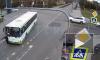 Видео: в Пушкине автобус сбил женщину