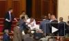 Побоищем закончились дебаты о языке в Верховной Раде Украины
