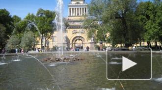 День ВДВ в Петербурге: десантников из фонтана вытаскивала полиция