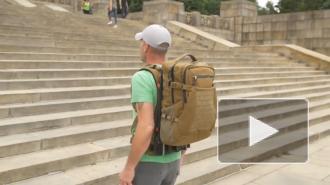 Моторизированный рюкзак облегчил ходьбу с грузом