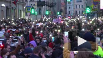 Протест в Петербурге и задержания активистов - взгляд Piter.TV