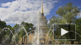 Грустные итоги праздника: в день ВМФ вандалам удалось сломать фонтан у Александровского сада