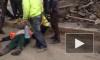 Видео: на Дальневосточном проспекте агрессивный водитель сбил дорожных рабочих