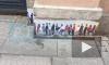 В Петербурге появился стрит-арт, посвященный очередям за финской визой
