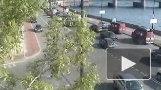 Опасная близость. ДТП на Петроградской набережной